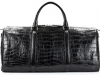 Aino - Duffel Bag in Alligator - Black