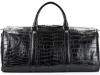 Aino - Duffel Bag in Alligator - Black