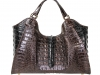 Colette 14' - Dark Brown & Black Alligator Hornback