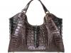 Colette 14' - Dark Brown & Black Alligator Hornback